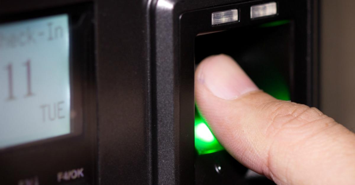 fingerprint scan access control