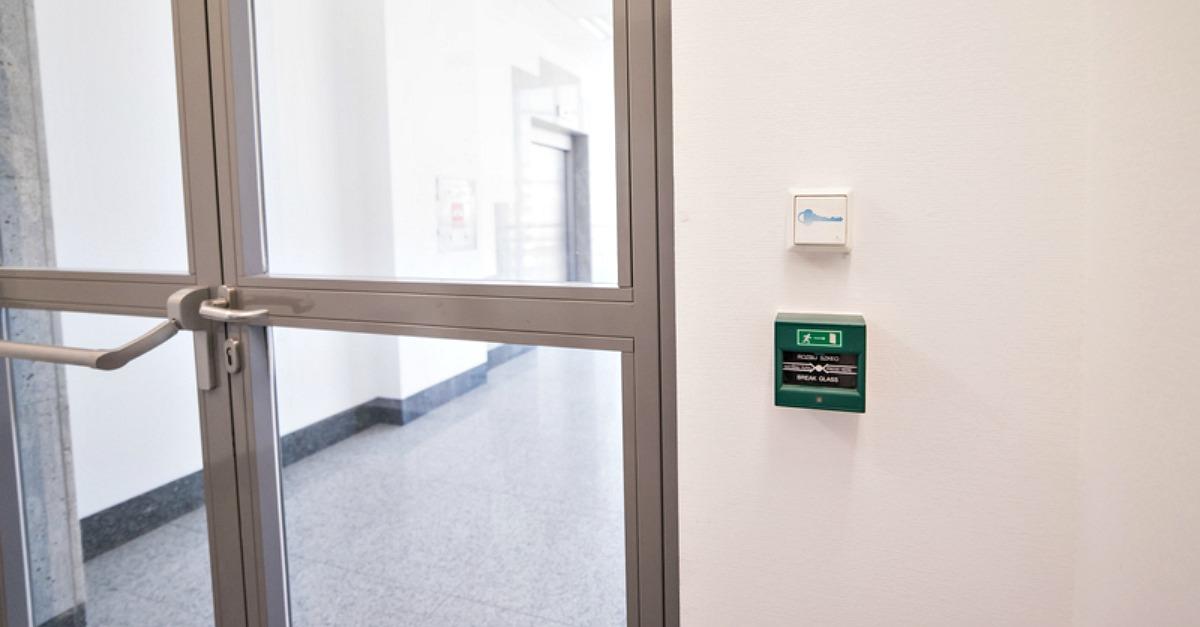 access control hospital doors