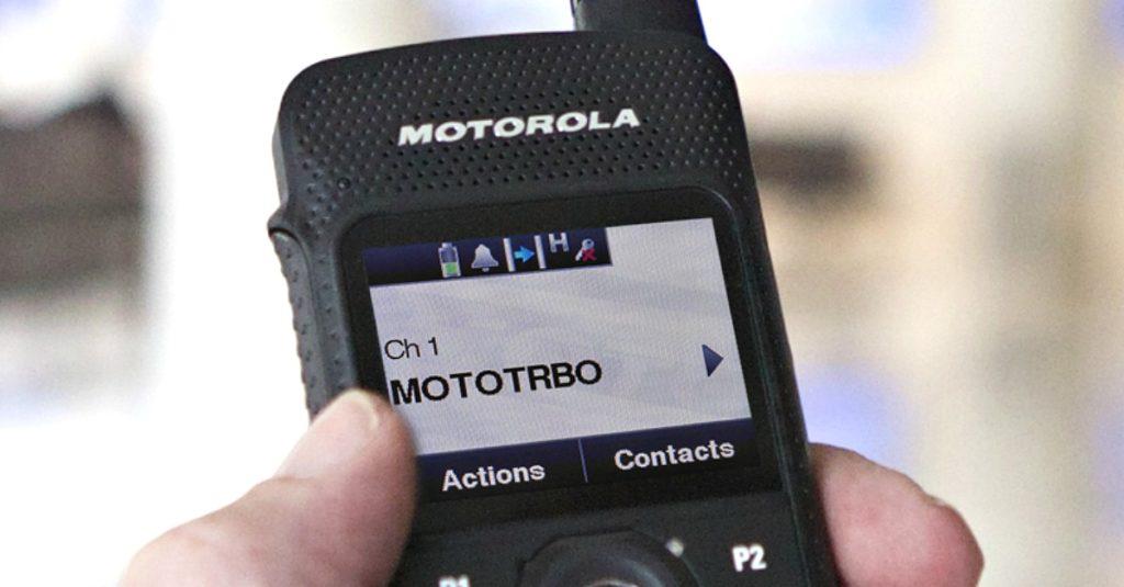 motorola radio